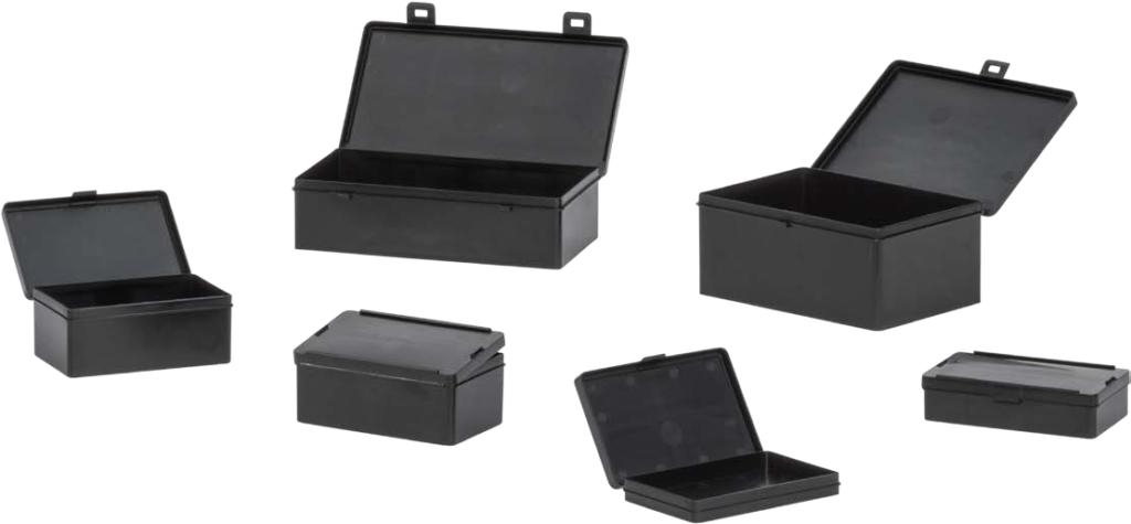 scatole chiudibili esd per minuterie e componenti elettronici